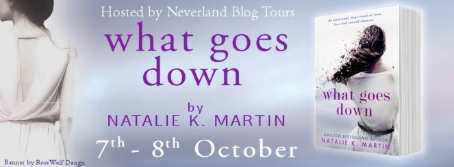 What goes down banner